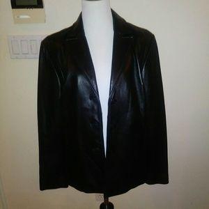 Kenneth Cole Reaction Leather Jacket size Large